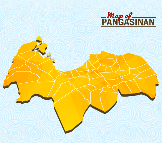 Map of Pangasinan