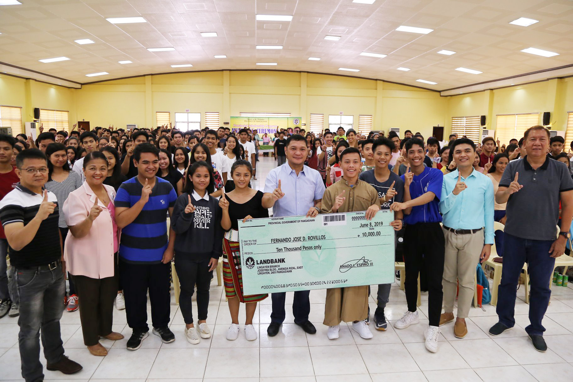 AWARDING OF FINANCIAL ASSISTANCE TO PROVINCIAL SCHOLARS