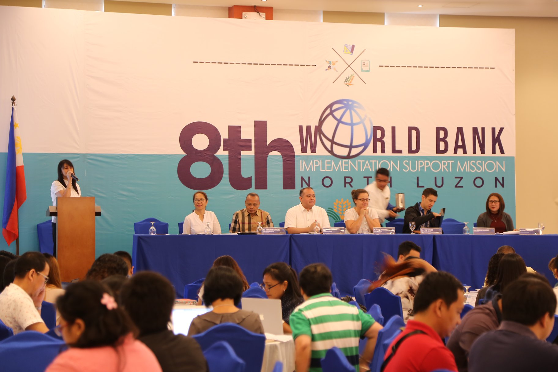 PRDP NORTH LUZON CLUSTER MEETING WITH WB EXECS (1)
