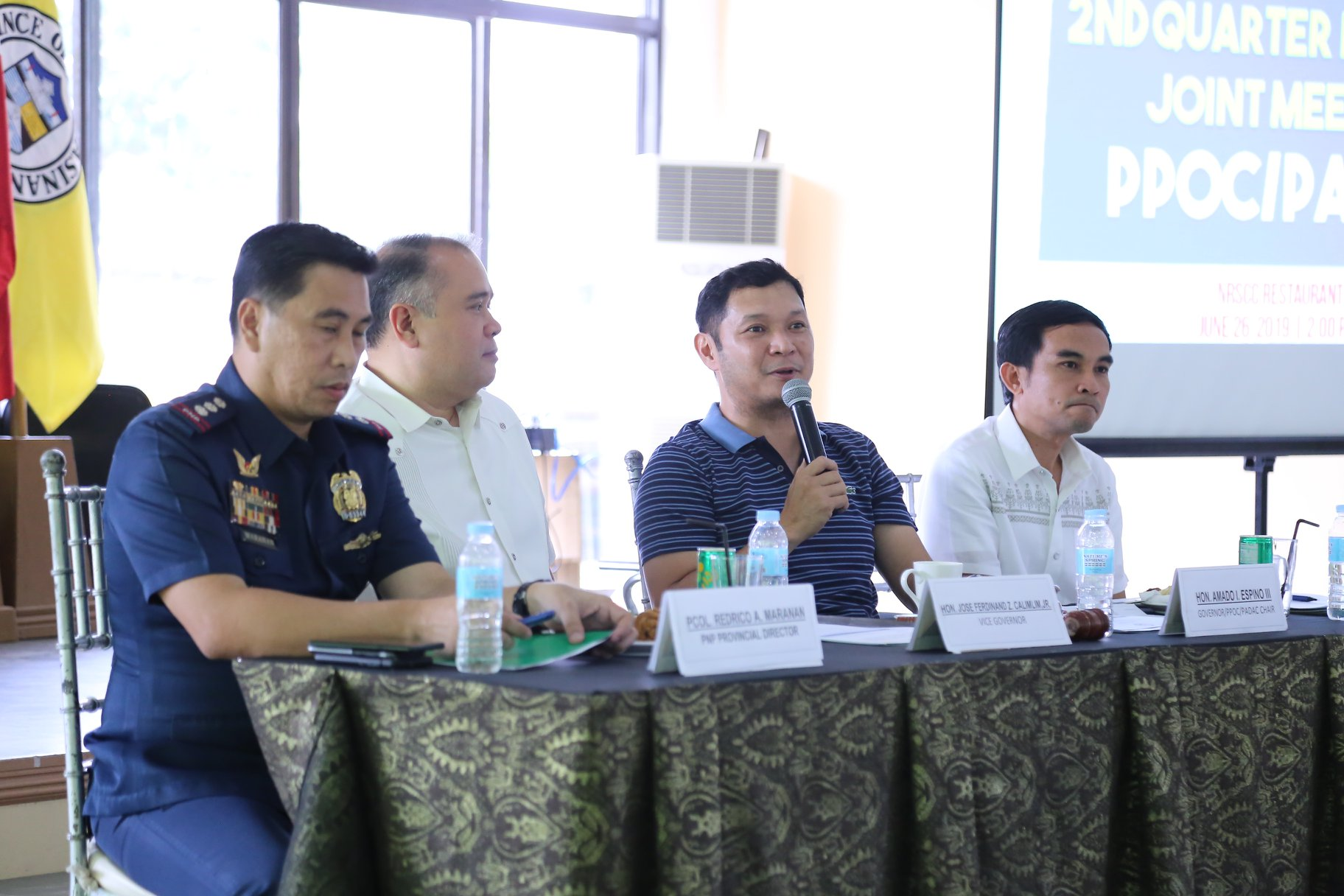 PNP assures Pangasinan that it is peaceful (1)